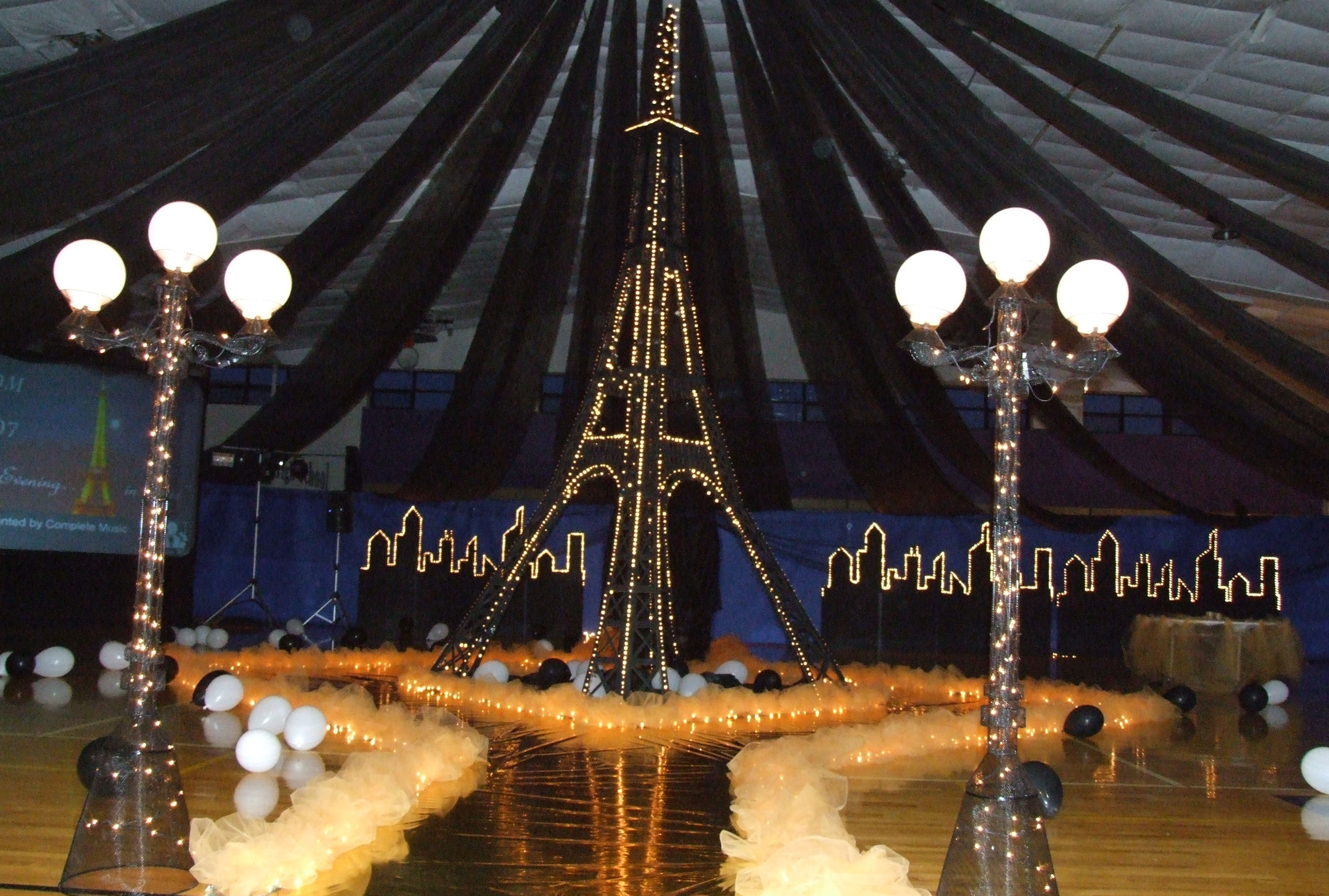 midnight in paris prom theme